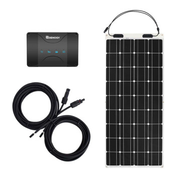 Renogy 12V 30A DUAL BATTERY CHARGING 100W SOLAR FLEX BUNDLE