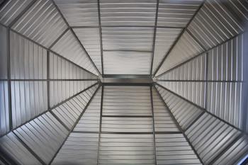 Sojag 440-9163025 Charleston Solarium Wall Unit 10 x 13 ft - Dark Grey