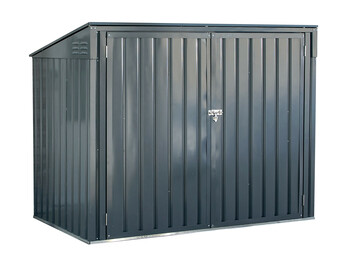 Arrow STB63CC Storboss, 6x3, Charcoal Horizontal Shed - Charcoal