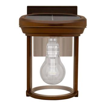 Gama Sonic Solar Coach Lantern with GS Solar LED Light Bulb
