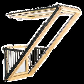 VELUX 39 3/8 x 101 Cabrio Balcony Window - GDL-PK19