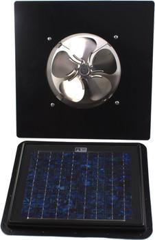 SunRise 30-Watt Solar Attic Fan - Gable Mount