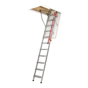 Fakro LML 27.5 in. x 47 in. Lux Insulated Metal Folding Attic Ladder