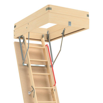 Fakro 22.5 in. x 31 in. Wooden Box Extension for Attic Ladder