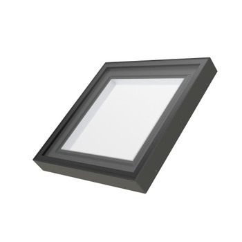 Fakro FXC 46-1/2 in. x 46-1/2 in. Fixed Curb-Mounted Skylight with Laminated LowE366 Glass