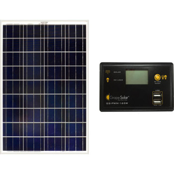 Grape Solar GS-100-BASIC 100W Off-Grid Kit