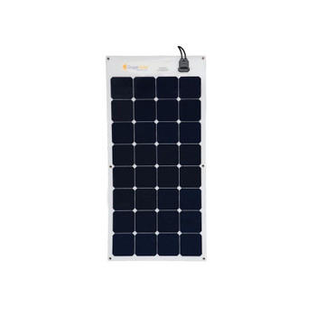 Grape Solar GS-FLEX-100W-SP 100-Watt Flexible Monocrystalline Solar Panel