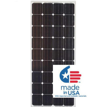 Grape Solar GS-STAR-190W-US 190-Watt Monocrystalline PV Solar Panel for Cabins, RV's and Back-Up Power Systems