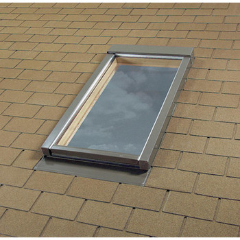 Fakro 46-1/2 in. x 45-1/2 in. Fixed Deck-Mounted Skylight