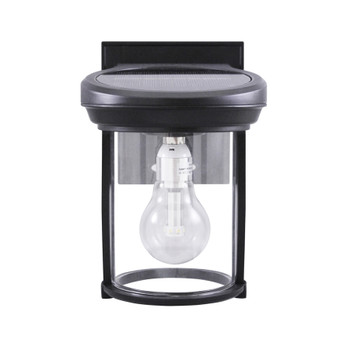 Gama Sonic Solar Coach Lantern with GS Solar LED Light Bulb GS-1B