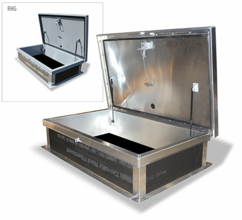Acudor 30 x 54 Ship Stair Roof Hatch G3862 Galvanized Steel