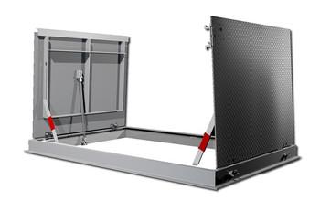 Acudor 36 x 48 FC-300 Single Leaf Floor Door