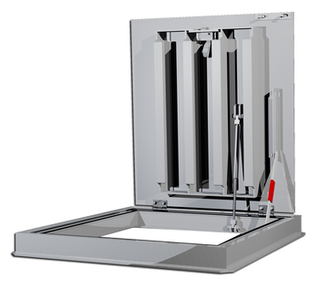 Acudor 48 x 48 FC-H20 Loading Floor Door - Double Leaf
