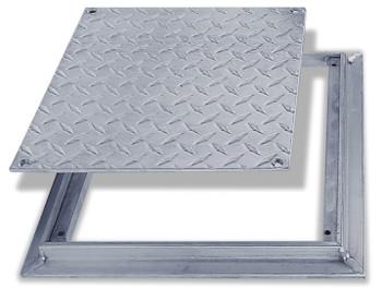 Acudor 12 x 12 FD-8060 Aluminum Floor Door