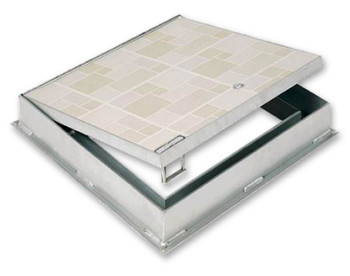 Acudor 48 x 48 FT-8050 Floor Door Double Leaf