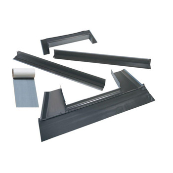VELUX S06 Metal Roof Flashing Kit with Adhesive Underlayment for Deck Mount Skylight