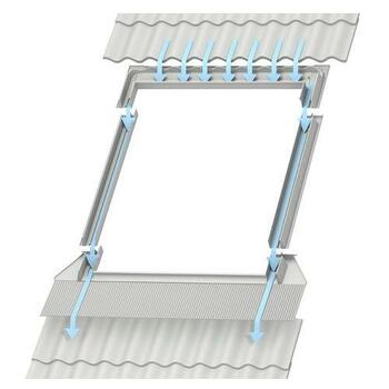 VELUX PK10 High-Profile Tile Roof Flashing for GPU Roof Windows