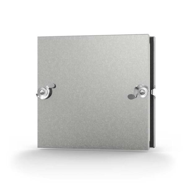 Acudor 10x10 CD-5080 Galvanized Steel Insulated Duct Door for Sheet Metal Duct NO HINGE