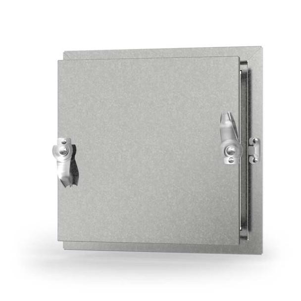 Acudor 10x10 CD-5080-F Galvanized Steel Insulated Duct Door for Ductboard/Fiberglass Duct - NO HINGE