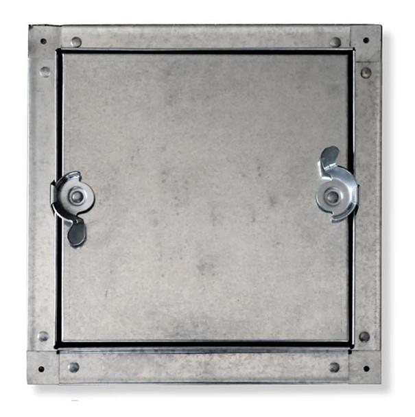 Acudor 10x10 CDSS-6030 Galvanized Steel Self-Stick Duct Door For Sheet Metal Duct NO HINGE
