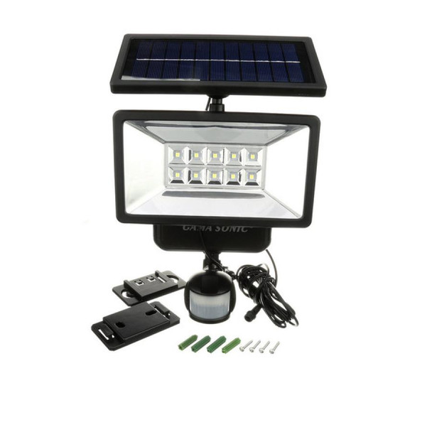 Gama Sonic Solar Security Light with Motion Sensor GS-10