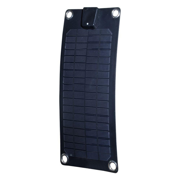 3-Watt Semi-Flex Monocrystalline Solar Panel and Battery Trickle Charger