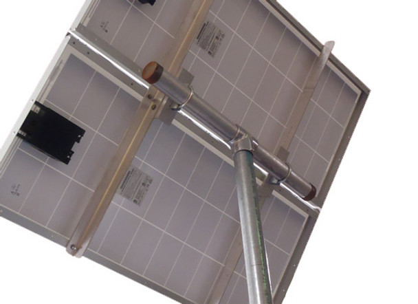 Ameresco 2X-TPM, Solar Panel Top of Pole Mount