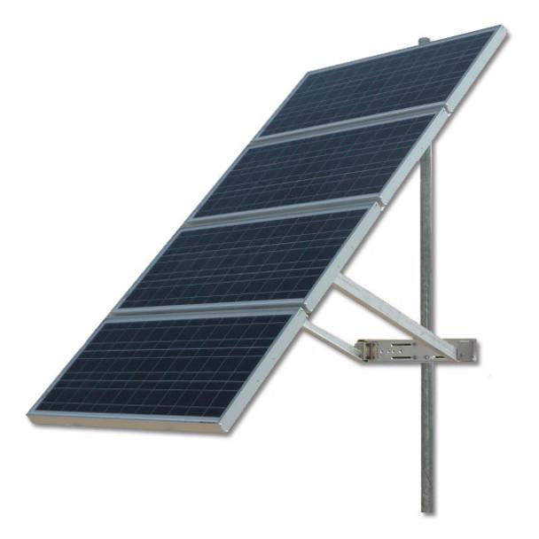 Ameresco 4X-SPM, Solar Panel Pole/Tower Mount