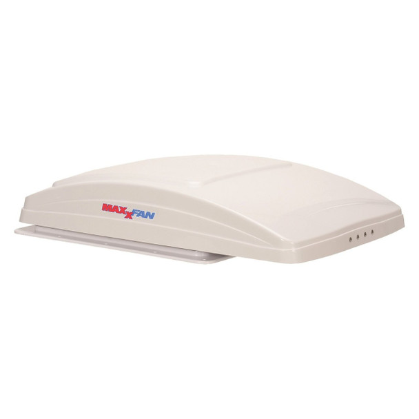 MaxxFan Deluxe Electric Powered Roof Vent with Remote Control - White