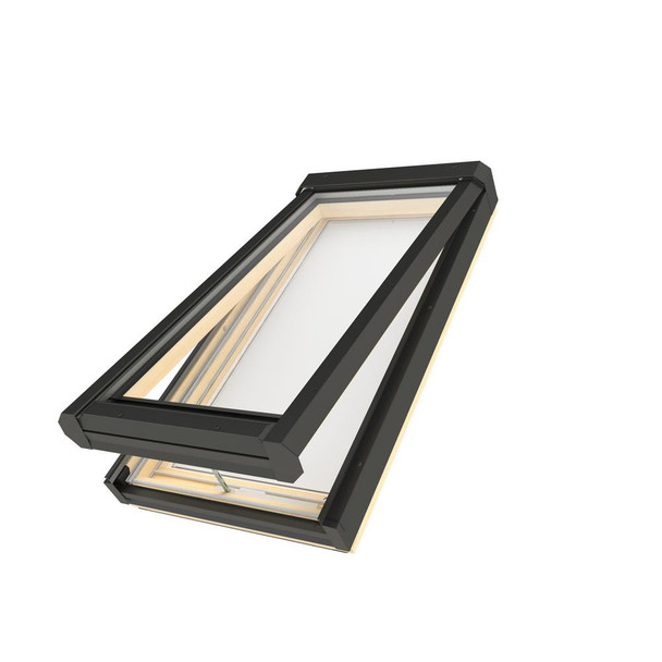Fakro FV 30-1/2 in. x 54 in. Manual Venting Deck-Mounted Skylight with Laminated Low-E Glass