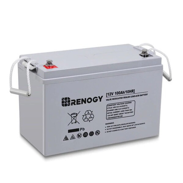 Renogy DEEP CYCLE AGM BATTERY 12 VOLT 100AH (Out of Stock)