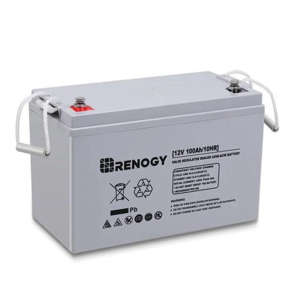Renogy Deep Cycle AGM Battery 12 Volt 100AH