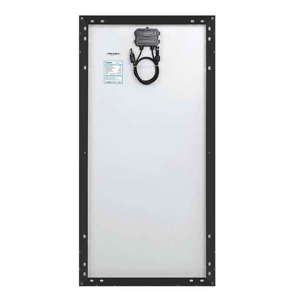 Renogy 100 WATT 12 VOLT MONOCRYSTALLINE SOLAR PANEL (BLACK FRAME)(BACK ORDER)