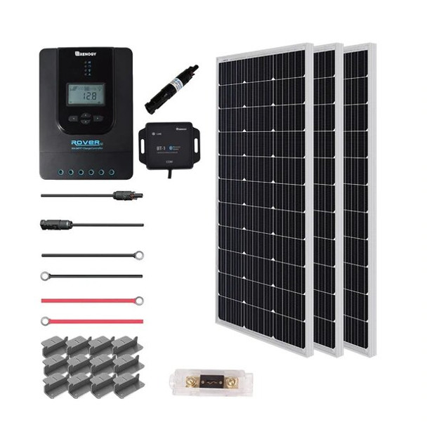 Renogy New 300 Watt 12 Volt Solar Premium Kit