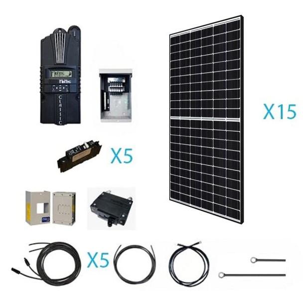 Renogy 4800 WATT 48 VOLT Monocrystalline Solar Kit