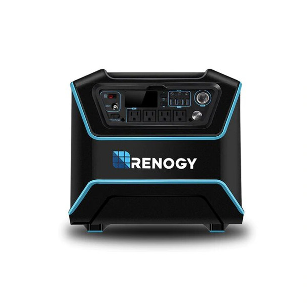 Renogy RNG-ELM-LYCAN100 The Lycan Powerbox Solar Power Generator with One 100W Suitcase