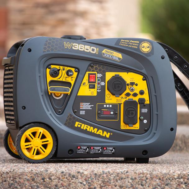 Firman W03381 3650 Watt Recoil Start Inverter Generator