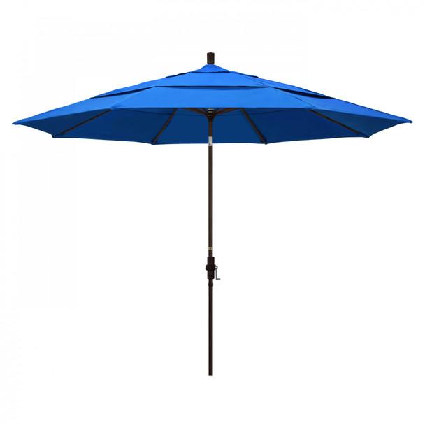 California Umbrella 11' Tahoe Series Patio Umbrella - GSCU118117-F03-DWV
