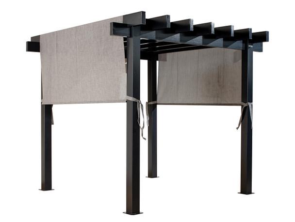 Sojag 500-9166859 Yamba Pergola 10x10 ft. - Light Grey