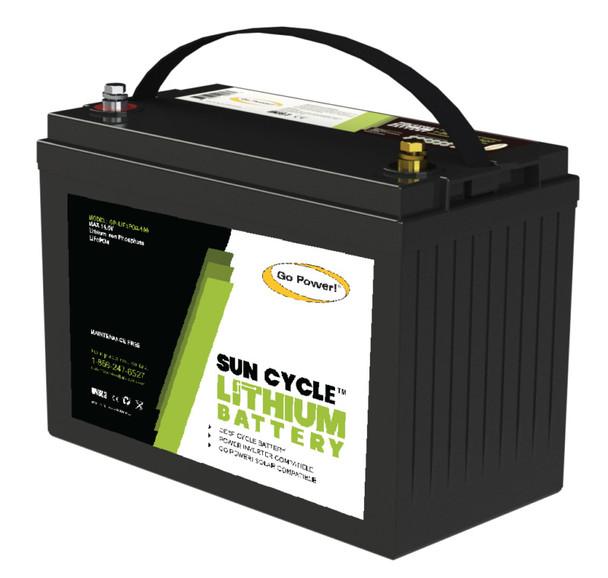 Go Power! GP-LIFEPO4-100 100Ah Lithium Iron Phosphate Solar Battery