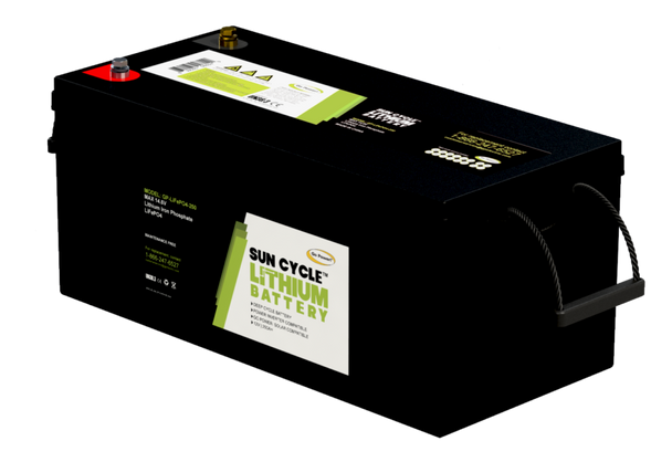 Go Power! GP-LIFEPO4-250 250Ah Lithium Iron Phosphate Solar Battery