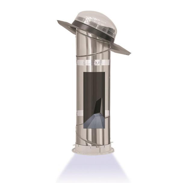 Velux 14 in. Tubular Skylight with Rigid Tunnel and Solar Powered Night Light