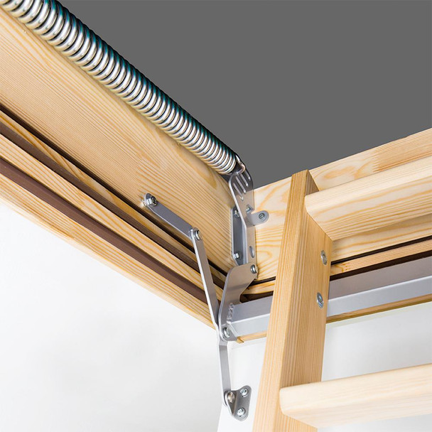 Fakro LWF 2254 22.5 in. x 54 in. Fire Rated Wood Attic Ladder