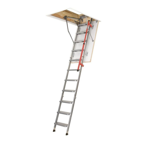 Fakro LML 27.5 in. x 47 in. Lux Insulated Metal Folding Attic Ladder