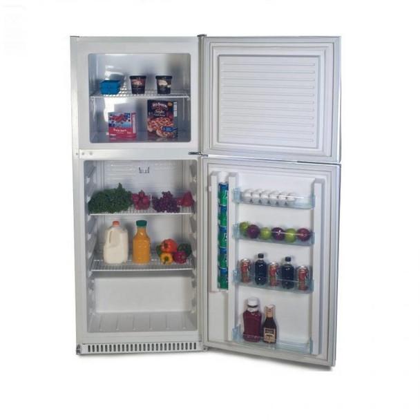 SunDanzer DCRF450 - 15 cu. ft. 12/24 VDC Refrigerator with Top Freezer