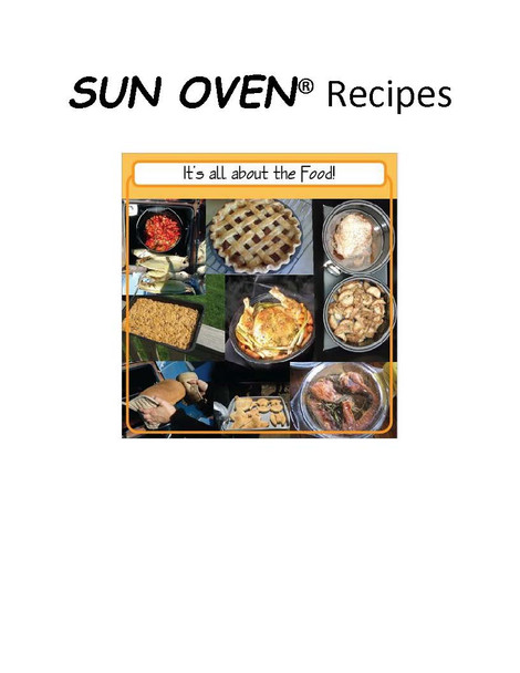 All American SUN OVEN with Dehydrating and Preparedness Accessory Package
