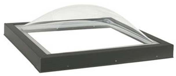 VELUX CG2 2525 Acrylic Double Dome Curb Mounted Commercial Skylight