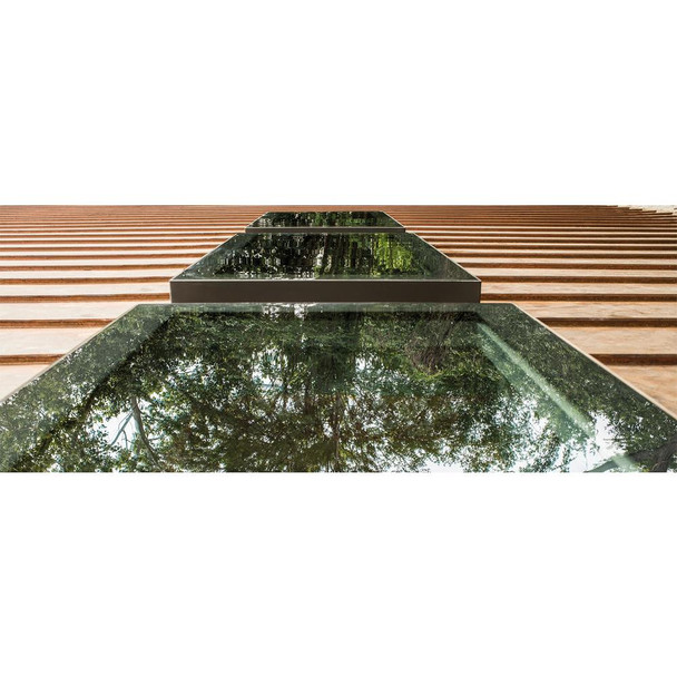 Fakro FXC 14-1/2 in. x 46-1/2 in. Fixed Curb-Mounted Skylight with Laminated LowE366 Glass