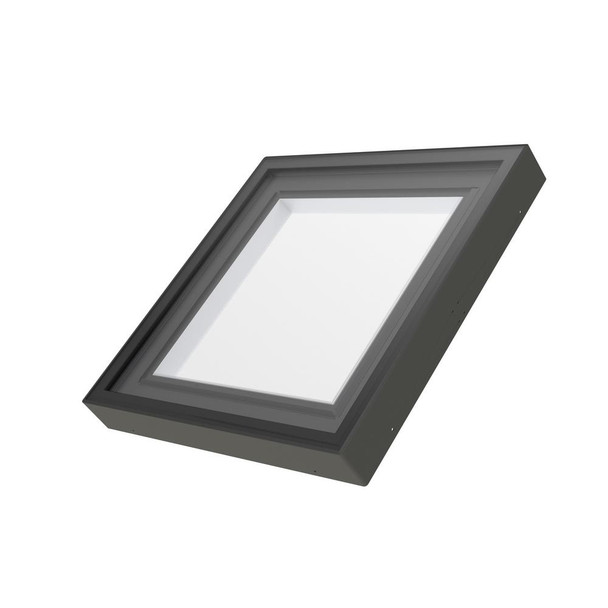 Fakro FXC 30-1/2 in. x 30-1/2 in. Fixed Curb-Mounted Skylight with Laminated LowE366 Glass