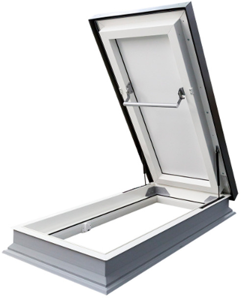 Fakro DRL 27.5 in. x 59.5 in. Venting, Flat Roof Access Hatch